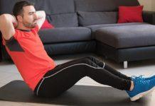 فواید ورزش کردن در خانه