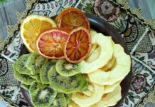 اموزش خشک کردن میوه