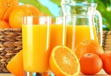 تهیه شربت پرتقال در خانه