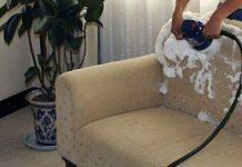 شستشو مبل در خانه