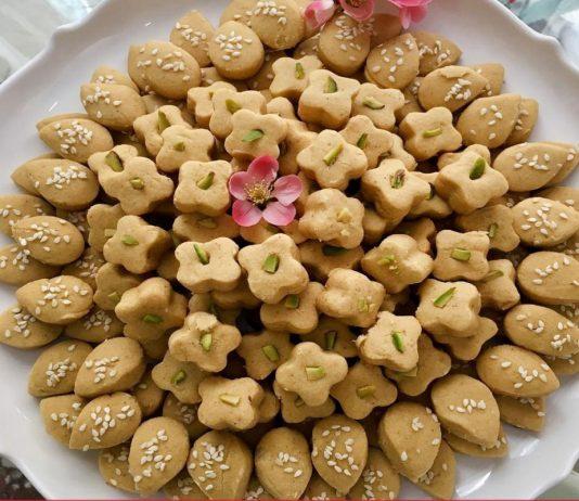 طرز تهیه شیرینی نان نخودچی